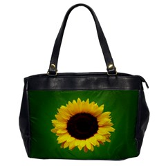 Sunflower Oversize Office Handbag (one Side)