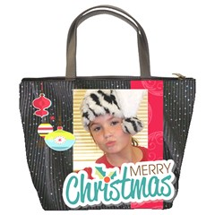 Christmas Bag Tonya By Meredith Hazel   Bucket Bag   6rnoyh23wi55   Www Artscow Com Back