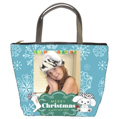 Christmas Bag Jaden By Meredith Hazel   Bucket Bag   Br51200g152t   Www Artscow Com Front