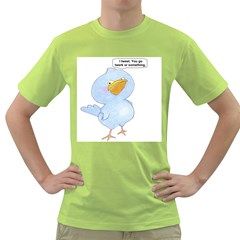 tweety bird Mens  T-shirt (Green) by Contest1714697