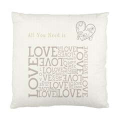 All You Need Is Love By Chatting   Standard Cushion Case (two Sides)   Zcaggsdtvitw   Www Artscow Com Front