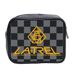 La Trel Bag By Andrew Hunn   Mini Toiletries Bag (two Sides)   Zs2adm108zik   Www Artscow Com Back