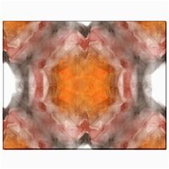 Seamless Background Fractal Canvas 11  X 14  (unframed) by hlehnerer