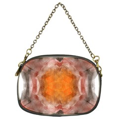 Seamless Background Fractal Chain Purse (two Side) by hlehnerer