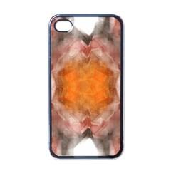Seamless Background Fractal Apple Iphone 4 Case (black) by hlehnerer