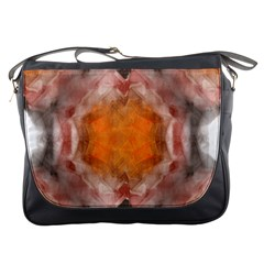 Seamless Background Fractal Messenger Bag by hlehnerer