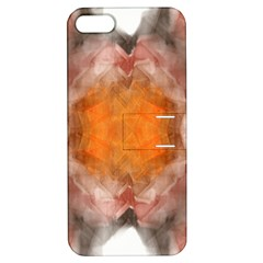 Seamless Background Fractal Apple Iphone 5 Hardshell Case With Stand by hlehnerer