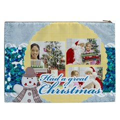 Christmas Gift By Merry Christmas   Cosmetic Bag (xxl)   V7m4ofnj7487   Www Artscow Com Back
