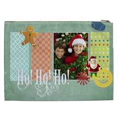 Christmas Gift By Merry Christmas   Cosmetic Bag (xxl)   68q8klwcdup3   Www Artscow Com Back