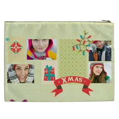 Christmas Gift By Merry Christmas   Cosmetic Bag (xxl)   Wkpbodqmqsw2   Www Artscow Com Back