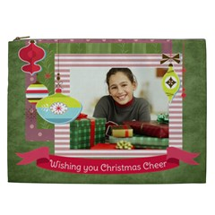 Christmas Gift By Merry Christmas   Cosmetic Bag (xxl)   Dhujn6r234w3   Www Artscow Com Front