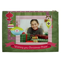 Christmas Gift By Merry Christmas   Cosmetic Bag (xxl)   Dhujn6r234w3   Www Artscow Com Back