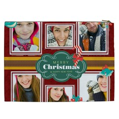 Christmas Gift By Merry Christmas   Cosmetic Bag (xxl)   H2sgh50p1849   Www Artscow Com Back