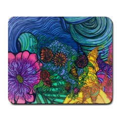 Beauty Blended Large Mouse Pad (rectangle) by JacklyneMae
