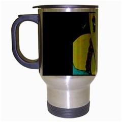 Missing You  Retro Travel Mug (silver Gray) by JacklyneMae