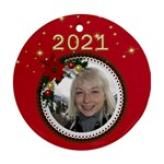 Round Christmas Ornament - Ornament (Round)