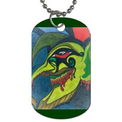 Jester Dog Tag (one Sided) by JacklyneMae