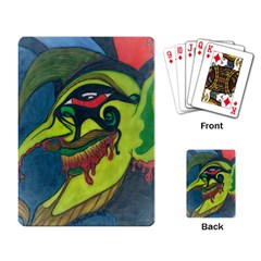 Jester Playing Cards Single Design by JacklyneMae