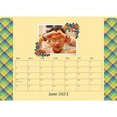 Desktop Calendar 8 5  X 6   Flower Blooms By Jennyl   Desktop Calendar 8 5  X 6    9yh32pza5ijh   Www Artscow Com Jun 2016