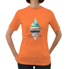 Inverted City Womens' T Shirt (colored)