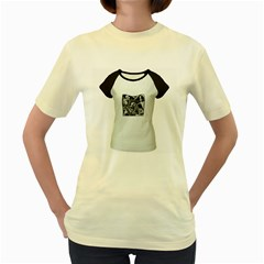 Don t Trust Your Eyes  Womens  T Shirt (yellow) by Contest1716206