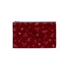 Camping Red By Brideofbmo   Cosmetic Bag (small)   9v7wn5vlfxsb   Www Artscow Com Front