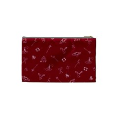 Camping Red By Brideofbmo   Cosmetic Bag (small)   9v7wn5vlfxsb   Www Artscow Com Back