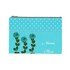 Cosmetic Bag (l)   Aqua Dreams By Jennyl   Cosmetic Bag (large)   Mwut9ynxfrpc   Www Artscow Com Front