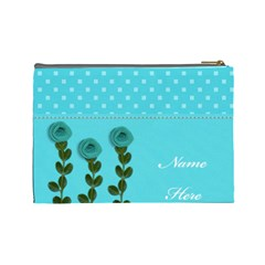 Cosmetic Bag (l)   Aqua Dreams By Jennyl   Cosmetic Bag (large)   Mwut9ynxfrpc   Www Artscow Com Back