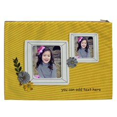 Cosmetic Bag (xxl)   Happiness 5 By Jennyl   Cosmetic Bag (xxl)   1aegf7wy84ul   Www Artscow Com Back