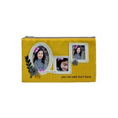 Cosmetic Bag (s)   Happiness 5 By Jennyl   Cosmetic Bag (small)   Yqbsnrf38vrm   Www Artscow Com Front