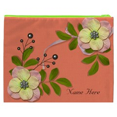 Cosmetic Bag (xxxl)   Big Flowers6 By Jennyl   Cosmetic Bag (xxxl)   Qq0zzbmw7qtu   Www Artscow Com Back
