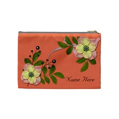 Cosmetic Bag (medium)   Big Flowers6 By Jennyl   Cosmetic Bag (medium)   Mtu6swt66nkl   Www Artscow Com Back