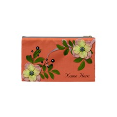 Cosmetic Bag (small)   Big Flowers6 By Jennyl   Cosmetic Bag (small)   Mcgxtj4x3y1b   Www Artscow Com Back