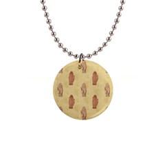 Palmistry Button Necklace