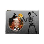 Halloween Large Cosmetic Bag - Cosmetic Bag (Large)