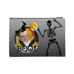 Halloween Large Cosmetic Bag By Lil    Cosmetic Bag (large)   Rl8wqgi1ja6g   Www Artscow Com Back