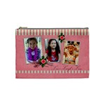 Cosmetic Bag (M) - Live. Laugh. Love - Cosmetic Bag (Medium)