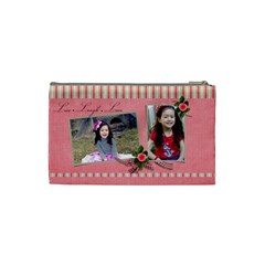 Cosmetic Bag (small)   Live  Laugh  Love By Jennyl   Cosmetic Bag (small)   Kjk3mryrt2hm   Www Artscow Com Back
