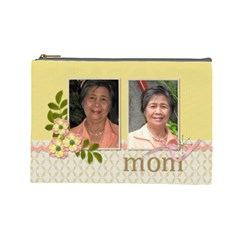 Cosmetic Bag (l)   Mom By Jennyl   Cosmetic Bag (large)   J6dpmd84hz3h   Www Artscow Com Front