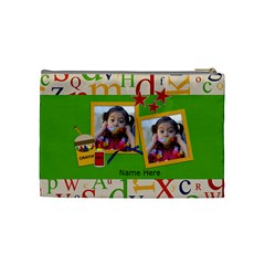 Cosmetic Bag (m)   Back To School By Jennyl   Cosmetic Bag (medium)   8ptjdg0rzg51   Www Artscow Com Back