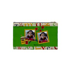Cosmetic Bag (s)   Back To School By Jennyl   Cosmetic Bag (small)   44ry5e4sn0lf   Www Artscow Com Back