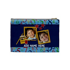 Cosmetic Bag (medium)  Back To School14 By Jennyl   Cosmetic Bag (medium)   6qkjx2jr2ebw   Www Artscow Com Back