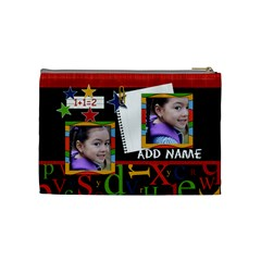 Cosmetic Bag (medium)   Back To School 8 By Jennyl   Cosmetic Bag (medium)   K8xip3cshsna   Www Artscow Com Back