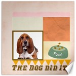 pet  cat dog - Canvas 20  x 20
