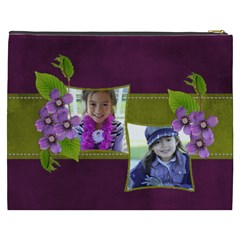 Cosmetic Bag (xxxl)   Purple Kiss By Jennyl   Cosmetic Bag (xxxl)   L3ie2fckcyg7   Www Artscow Com Back
