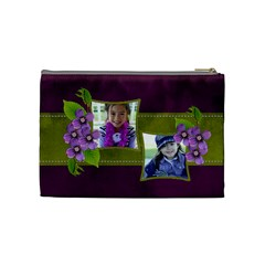 Cosmetic Bag (m)   Purple Kiss By Jennyl   Cosmetic Bag (medium)   M23d6auvaka4   Www Artscow Com Back