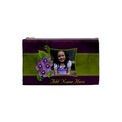Cosmetic Bag (s)   Purple Kiss By Jennyl   Cosmetic Bag (small)   Xs429drzuphs   Www Artscow Com Front