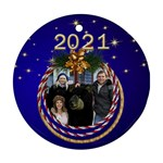 My Round Christmas Ornament - Ornament (Round)