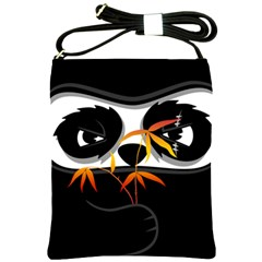 The Hidden Panda Shoulder Sling Bag by Contest1716449
